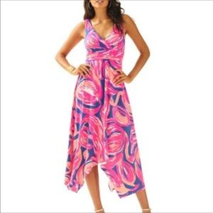 Lilly Pulitzer Sloane Midi Dress Size Medium